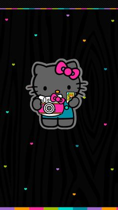 Pretty Walls: Colorful hello kitty freebies