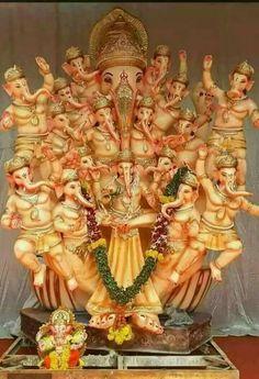 Shiva Art, Ganesha Art, Shiva Shakti, Hindu Art, Ganesh Lord, Sri Ganesh, Lord Shiva, Om Gam Ganapataye Namaha, Om Namah Shivaya