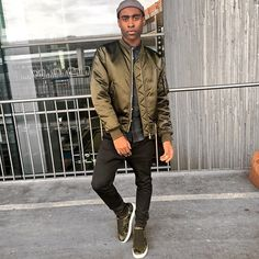 Get this look: http://lb.nu/look/8645917  More looks by Willie Sparks: http://lb.nu/sparksnstyle  Items in this look:  Sandro Bomber, Coach Sneakers   #sparksnstyle #streetstyle #airportstyle #germany #fblogger #travelblogger #menswear #mensstyle