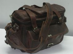 Leather Camera bag Pure Genuine Handmade soft par GenuineGoods786, $79,00