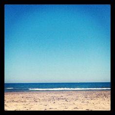 #beach #sky #sea #blue