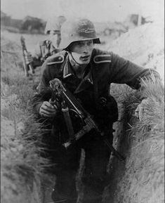 German soldiers trying to infiltrate enemy lines…scissors for cutting wire