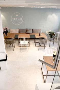 "cafe | ""the yogurt shop"" | copenhagen, denmark"