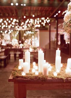 Stunning wedding reception idea; photo: Elizabeth Messina