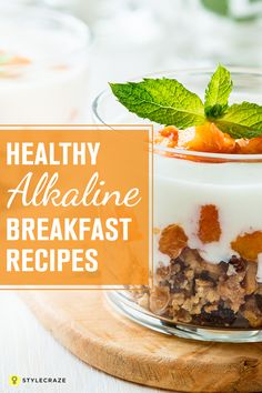 Cold Oats are great for early morning breakfasts too. Make some at home in order to reap its amazing health benefits. 10 Healthy Alkaline Breakfast Recipes You Must Try Alkaline Breakfast, Breakfast Smoothie Recipes, Diet Breakfast, Alkaline Diet Plan, Alkaline Diet Recipes, Healthy Recipes, Healthy Food, Cold Oats, Gerd Diet