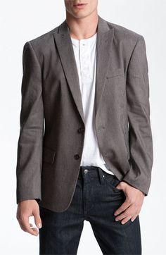 John Varvatos Star USA Blazer / $225  - what a good simple look.