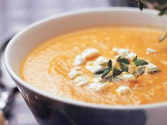 Fetajuustolla maustettu porkkanasosekeitto - Reseptit