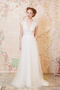 Ivy & Aster Spring 2016 Wedding Dresses — Through the Flowers Bridal Collection   Wedding Inspirasi