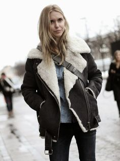 Trending: How to wear a shearling jacket | Fitzroy Boutique