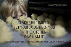 Let Your Kids Help in the Kitchen by @PaleoParents