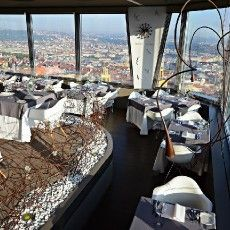Prague has its share of fabulous dining views too