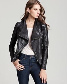 Mackage Ombre Leather Jacket | Bloomingdale's