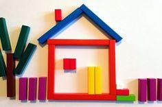 Домик из палочек Кюизенера Play Based Learning, Preschool Themes, Montessori, Whiteboard, Activities, Pattern, Blog, Kids, Popsicle Sticks