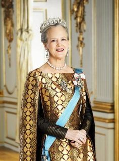 Queen Margrethe of Denmark - The Danish Monarchy can be traced back more than 1000 years. The Queen of Denmark, Margrethe II, is therefore able to count kings like Gorm the Old (deceased 958) and Harald Bluetooth (deceased 987) among her ancestors.