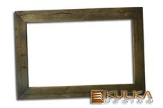 Frame to the mirror, old wood