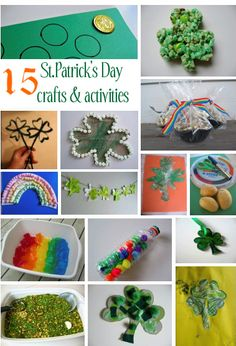 Fun St. Patty's Day activities - this whole site is full of great ideas.