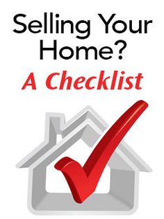 Checklist for Selling Your Home #glhomes