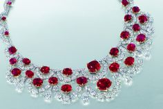 Ruby necklace, courtesy Christie's Hong Kong