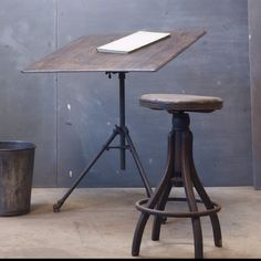 Vintage Drawing Table. Drawing Board