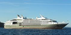 Cruise ship tour and profile of Le Boreal, which is a small luxury ship owned by Ponant Cruises