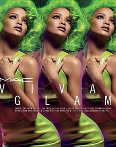 【ELLEgirl】リアーナ×M・A・Cのコラボ「VivaGlam」が今秋復活!|エル・ガール・オンライン