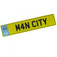 Manchester City FC License Plate