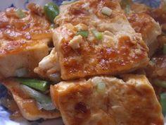 10分で完成♪お豆腐のケチャップ焼き♪