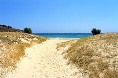 Path to Psili Ammos beach