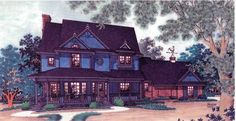 Eplans Victorian House Plan - Victorian Elegance - 1928 Square Feet and 3 Bedrooms from Eplans - House Plan Code HWEPL05145