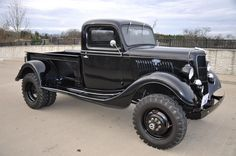 1935 Ford 4x4 1 ton dually