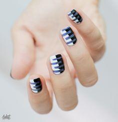 The Shifty Cameleon by TFL // The Black & White stripes