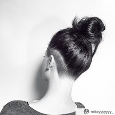 Are you get bored with your regular hair? Want to try something new which makes you different and stand out from the crowd? Then spice it out with the trendiest look of this season is the cool undercut hair. Top Hairstyles, Short Hairstyles For Women, Shaved Side Hairstyles, Simple Hairstyles, Hair Styles 2016, Curly Hair Styles, Undercut Long Hair, Undercut Women, Undercut Pixie