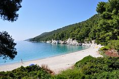 Kastani Beach, Skopelos, Greece (Where Mamma Mia was filmed)
