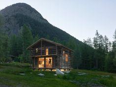 Savioz Fabrizzi - Barn transformation, Praz-de-Fort 2016 [1335x1000] [OS] - Cool Houses Pictures And Dream Home Unique Designs, Big, Medium Size And Small House Design Ideas