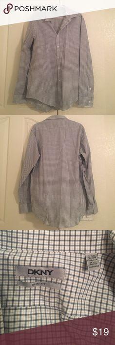 DKNY Slim Fit Shirt Slim Fit. 16.5, 34/35. Bundle and save 10%. Good condition! DKNY Shirts Dress Shirts