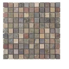Jeffrey Court Tumbled Mixed Slate 12 in. x 12/1 in. x 1 in. Wall Tile
