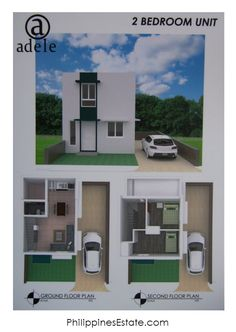 Adele Residences Boxed Unit - Lot area sqm, Floor area- 1 T&B, Single Attached. Ground Floor Plan, Lots For Sale, Second Floor, Adele, Philippines, New Homes, Floor Plans, The Unit, Flooring