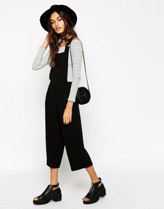 Image 4 of ASOS Akward Length Jumpsuit With Pinafore