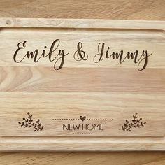 Gift for Grandma Gift for nana Gift for Nanna Gift For Nan Gifts For Nan, Birthday Gifts For Grandma, New Home Gifts, Grandma Gifts, New Baby Gifts, Wedding Name Tags, Wedding Place Names, Wooden Bread Board, Wooden Chopping Boards