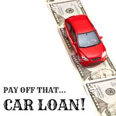 How to pay off that car loan early...