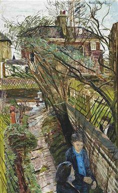 CAREL WEIGHT The Broken Trellis, The Artist's Garden, Battersea (1974)