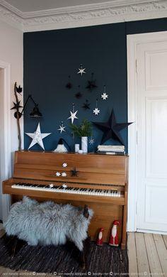 Stars all over, Christmas in our home - Kreativ-i-tet interior blog