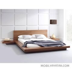 Image result for yatak japon Bed Frame Sizes, King Size Bed Frame, Storage Bed Queen, Bed Storage, Best King Size Bed, King Size Bed Designs, Modern Bedroom Furniture, Contemporary Bedroom, Tv Furniture