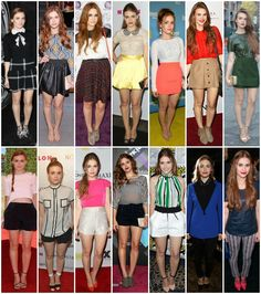Holland Roden Street Style. I have already pinned this, but I would love to point out that even though that Holland loves those short shorts and skirts, she also loves to cover up. Which I absolutely LOVE about her. My fashion inspiration!