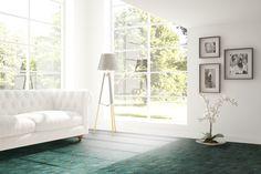 Living Room Designs, Living Spaces, Cork Flooring, Scandinavian Interior Design, Scandinavian Style, Rectangular Rugs, Commercial Interiors, Indoor Air Quality, Home Decor