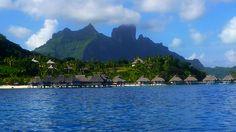 Bora Bora contrast landscapes. Sail with www.marinfinito.com