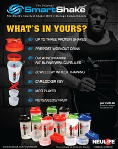 Smartshake2 Post Workout Drink, Product Ads, Mr Olympia, Pre And Post, Storage Compartments, Fat Burner, Protein Shakes, Drink Bottles, Boards