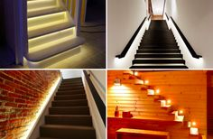 Illuminate your staircases with these beautiful modern lights