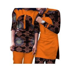 Dashiki African Clothing Matching Style For Couple Men and Women Top-Pants Source by mpaisebotsa dresses for men African Wear Styles For Men, African Shirts For Men, African Attire For Men, African Clothing For Men, African Style, Couples African Outfits, African Dresses Men, Latest African Fashion Dresses, African Print Fashion