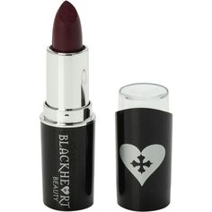 Blackheart Va Va Voom Lipstick | Hot Topic ($5) ❤ liked on Polyvore featuring beauty products, makeup, lip makeup, lipstick and voom